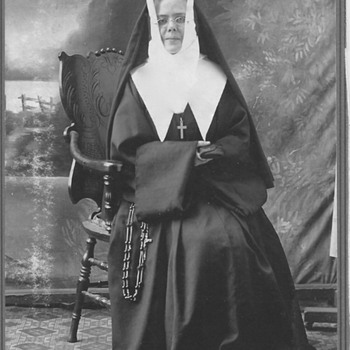 "My Grand Mother Sister""Cecile"" "" The Sister of the Congregation of Montreal""Circa 1890 - Photographs"