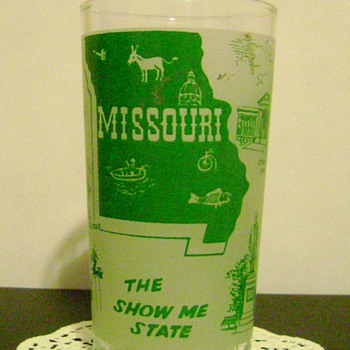 Missouri Souvenir Glass