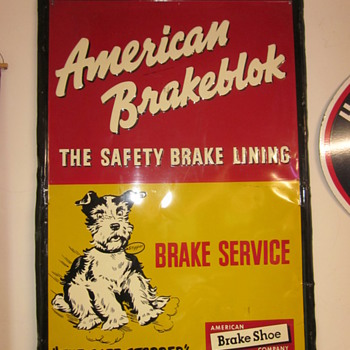 American Brakeblok Sign - Signs