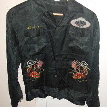11th Airborne Division Japanese Occupation era Tour Jacket - Military and Wartime