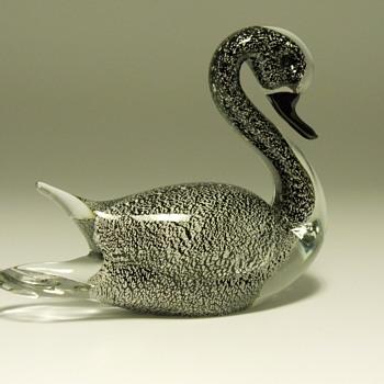 Murano Swan, Circa 1960-70 - Art Glass