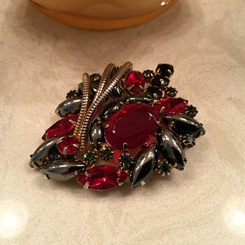 RED & HEMATITE D & E - Costume Jewelry
