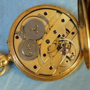 Louis Raby antique pocket watch