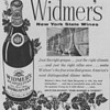 1954 Widmers Wine Advertisements