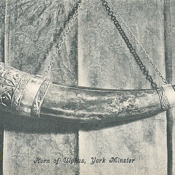 HORN OF ULPHUS (or ULF), YORK MINSTER. - Postcards