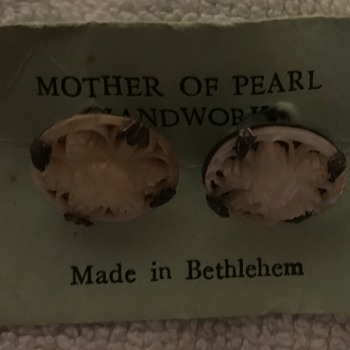 Cufflinks Mother of Pearl Bethlehem