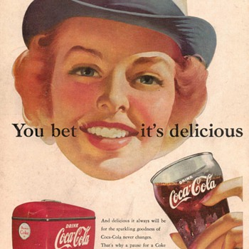1952 - Coca Cola Advertisement - Advertising