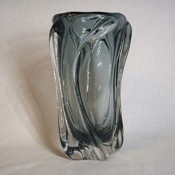 Asian,American or Canadian, Art Glass Vase,????,20 Century - Art Glass