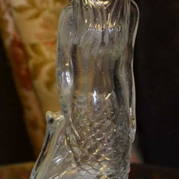 Avon Mermaid Bottle