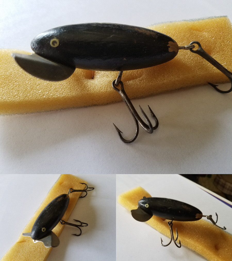 Vintage jitterbug like fishing lure collectors weekly for Jitterbug fishing lure