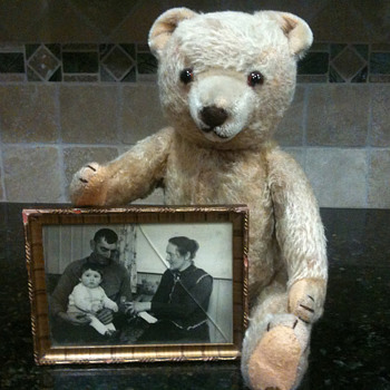 Mom's Bear from 1930's - Dolls