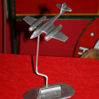 airplane trench art