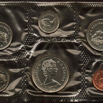 1986 - Canada Proof-Like Coins Set