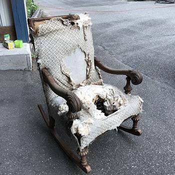 Dumpster dive.  - Furniture