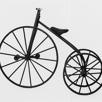 My Uncle Conrad Lambert's Wooden Bicycle - Sporting Goods