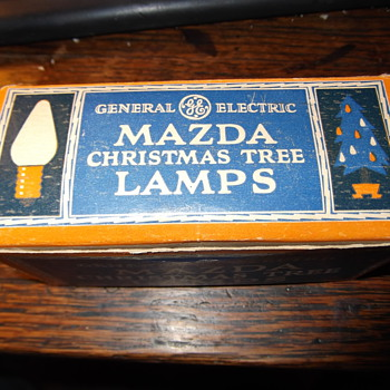General Electric c6 Mazda Christmas lamp 10 pack assorted colors - Christmas