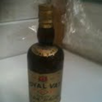royal vat 5 risks whiskey 1860 glasgow - Bottles