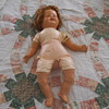 dont know nothing about this doll   no date no name or nothing