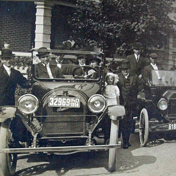 old Indiana car photo - Photographs