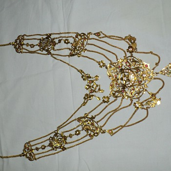 Antique Gold Necklace.