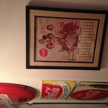 1967 Coke Calendar - Framed - Coca-Cola