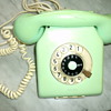Old telephone.