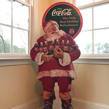 Coca Cola Santa.  - Coca-Cola