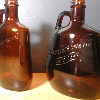 "Gooderhams Whisky ""Little Brown  Jug"""