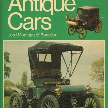 "1974 - ""Antique Cars"" Book - Books"