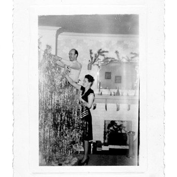 Vintage Christmas photos--also love to collect vintage arcade photos from the turn of the century. - Photographs