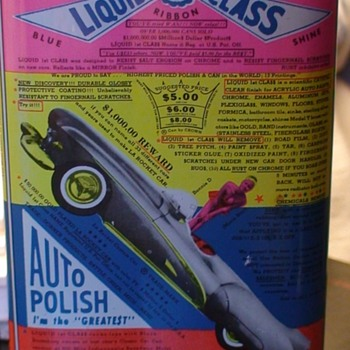 First Class Liquid Auto Polish (1960s?)