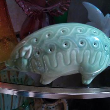 Green Pig Flower Frog!