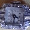Girard Perregaux Art Deco 1945 Diamond 14K Gold and Platnium