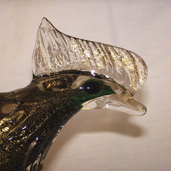 "Pheasant-Bird""Murano Art Glass""XX Century"