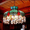 My Grandmothers Antique Slag Glass chandelier