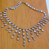 Vintage Antique Victorian Moonstone Festoon Necklace