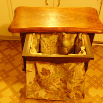 Table W/ Pull out Hamper ? - Furniture