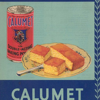 1931 - Calumet Baking Powder Advertisement - Advertising
