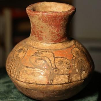 Mayan Pottery Vase - Pottery