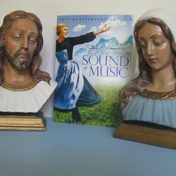 Maria von Trapp . . . Religious Statues