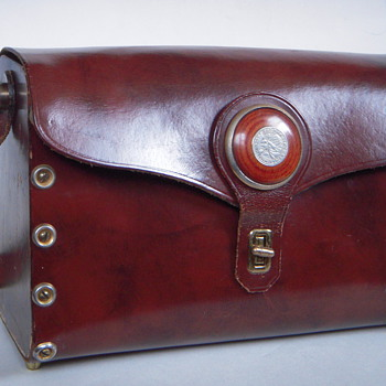 Vintage Pocketbook, Interesting Construction~Arje, Providence RI - Accessories