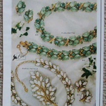 A great 1960 Coro Jewelry Ad!