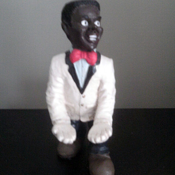 Black American  Butler ceramic  Man