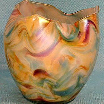 Rindskopf vase - Art Glass