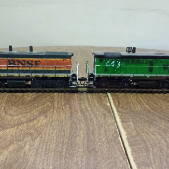 BNSF Switchers - Model Trains