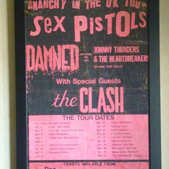 Anarchy Tour poster 1976