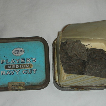 tobacco tins, british