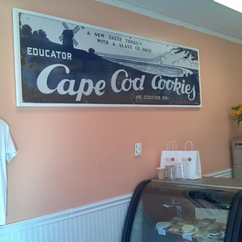 Educator Cape Cod Cookies - Balto Enamel & Nov.