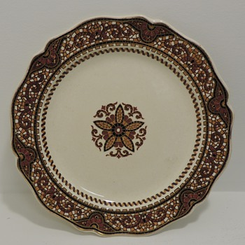 Plate 1 - China and Dinnerware