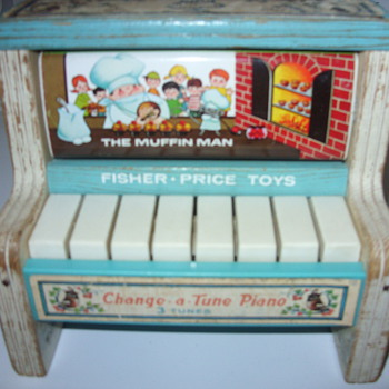 fisher price change a tune piano - Toys